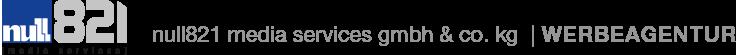 null821 media services gmbh & co. kg Logo