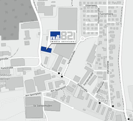 null821 media services gmbh & co. kg, Weberstraße 2, 86462 Langweid/Foret